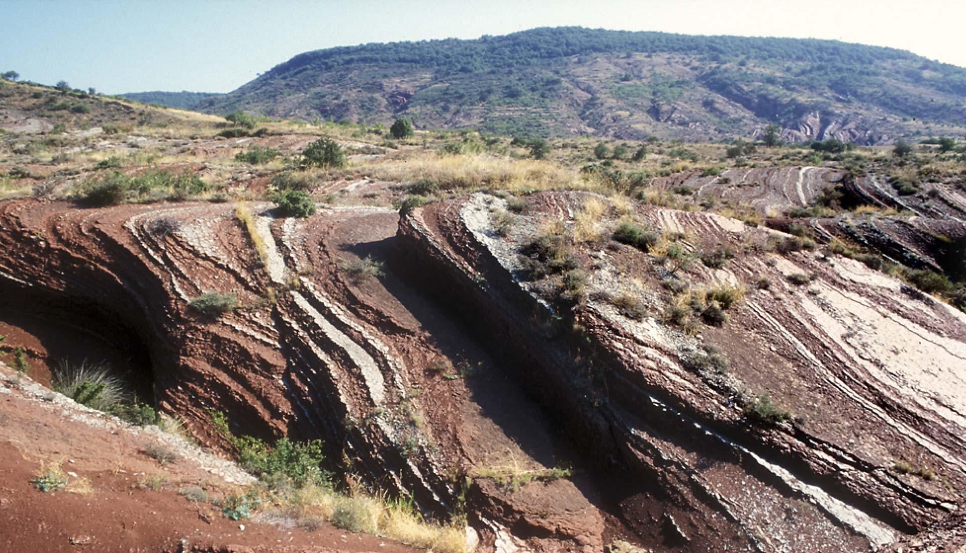 Erosion de la ruffe grand site Salagou