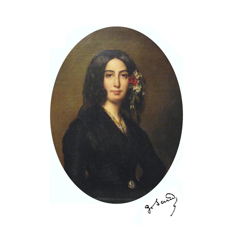 portrait Georges Sand