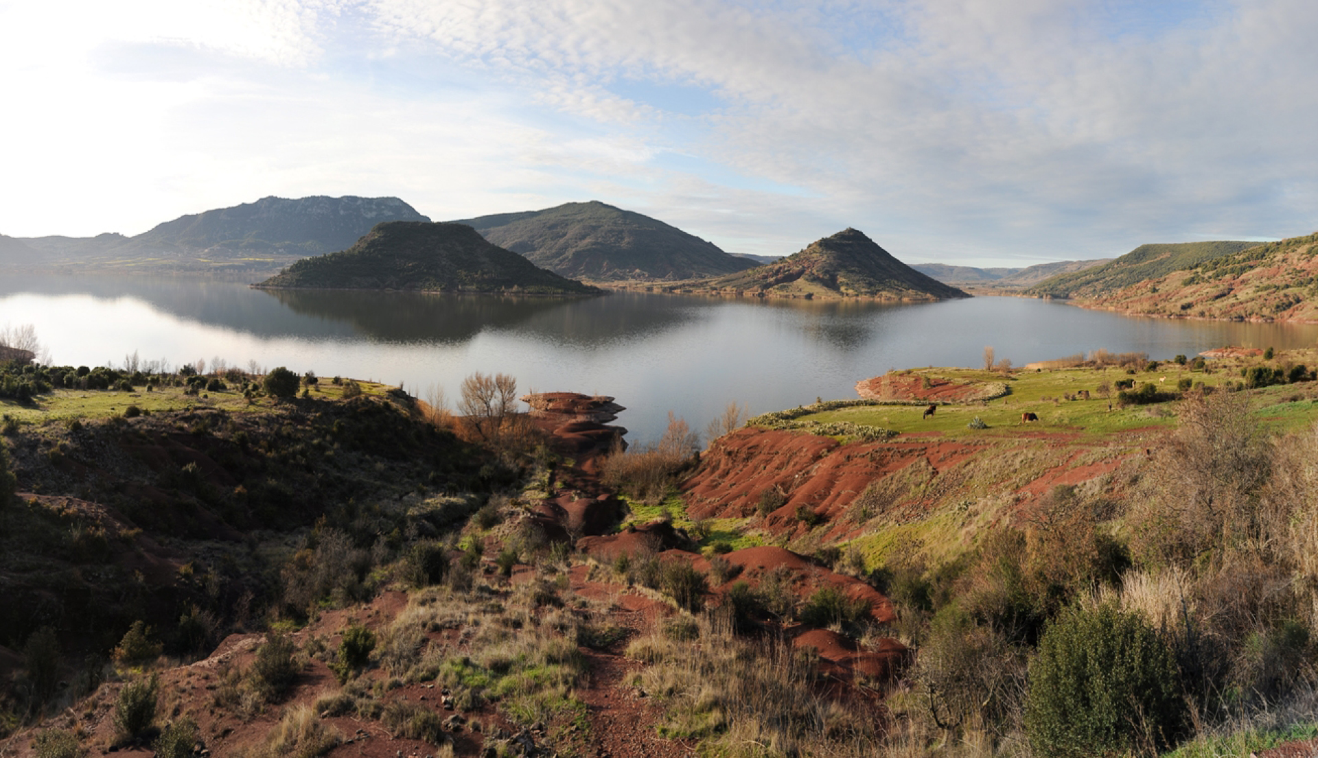 Lac du Salagou - Grand Sie Salagou - Cirque de Mourèze