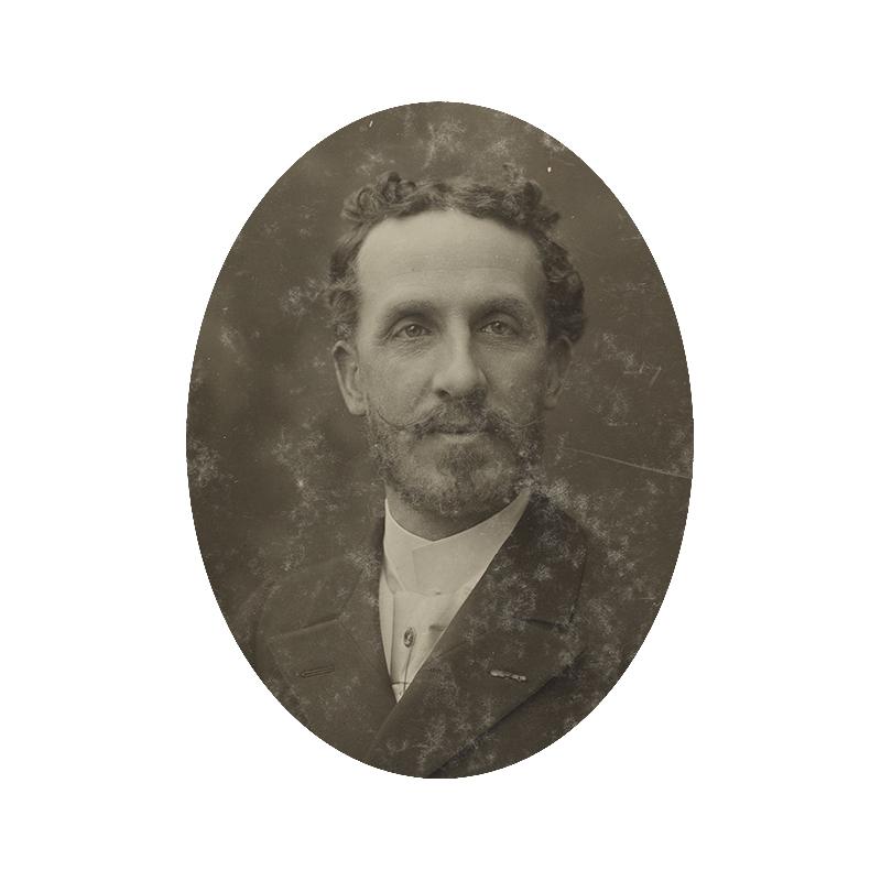 Portrait Édouard Alfred Martel