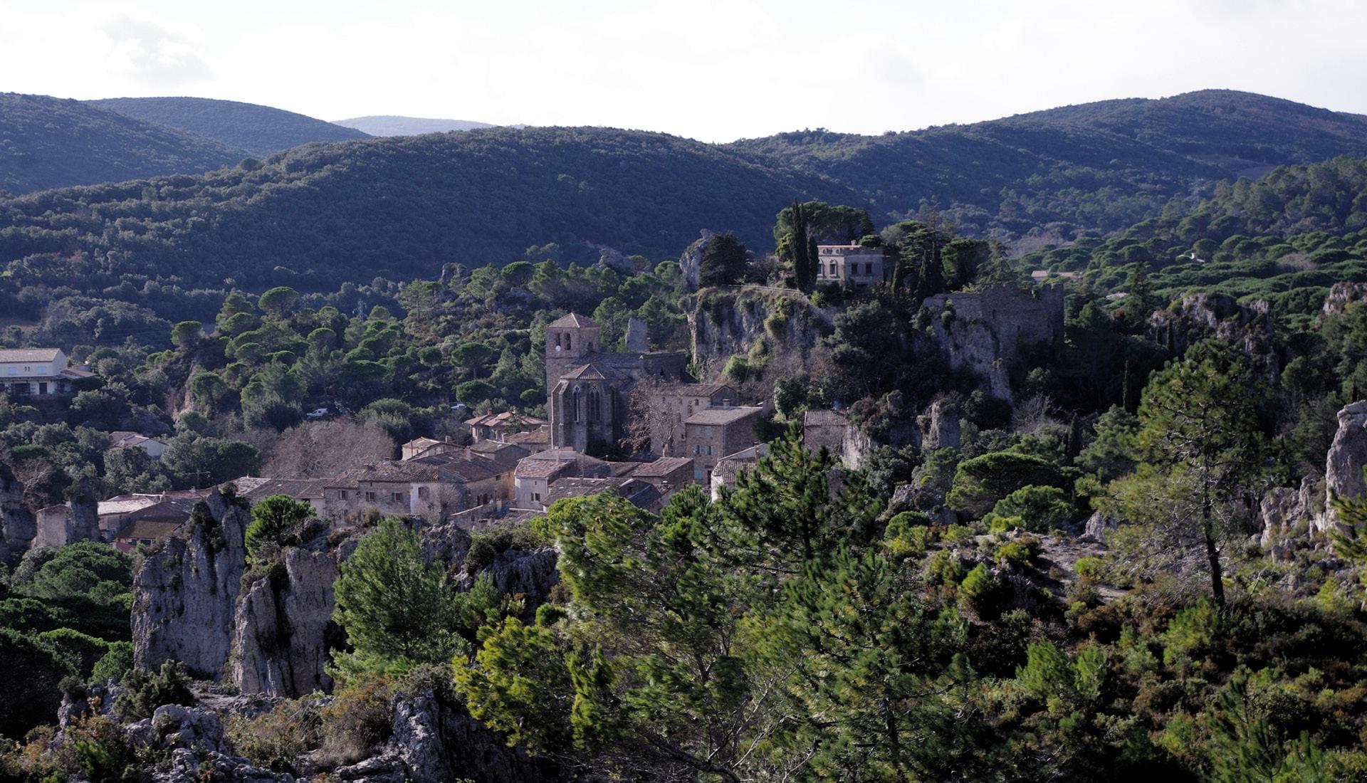 Village Cirque de Mourèze © Maza Flickr