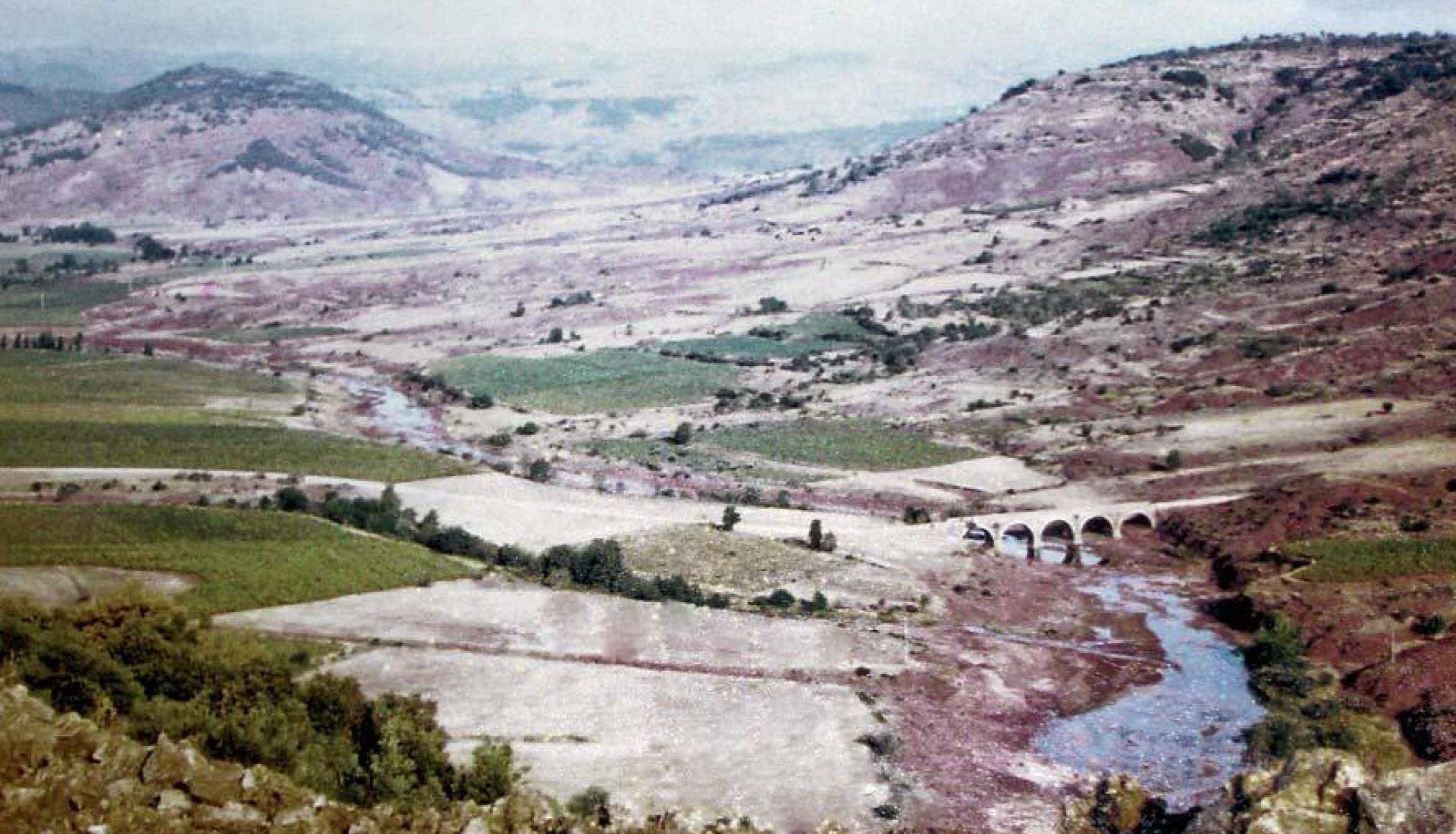 Lac du Salagou photo historique