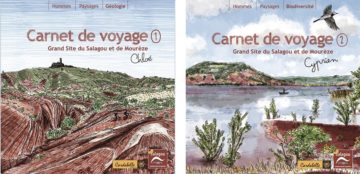 Livre Carnets de voyage Grand Site Salagou