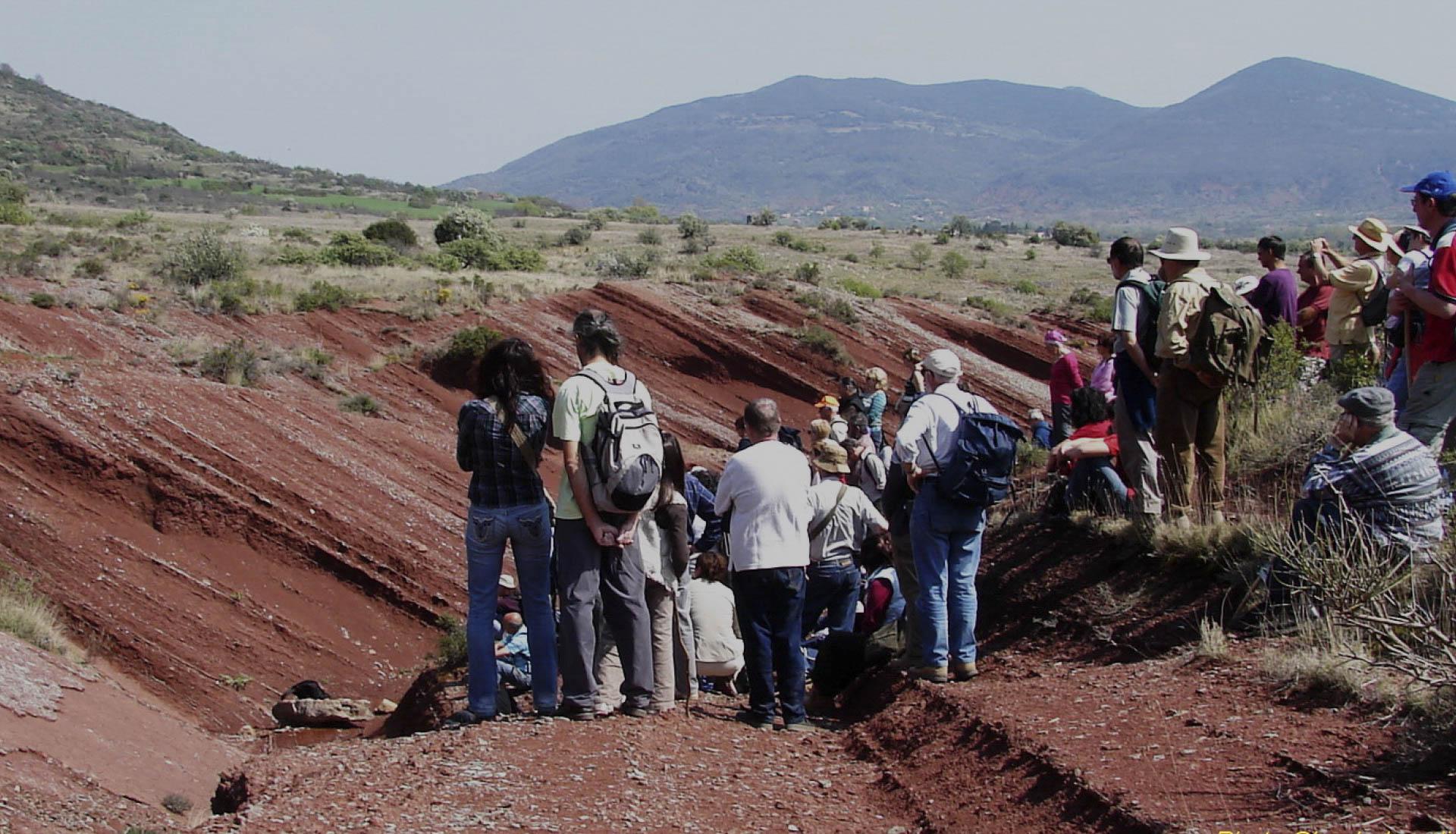 Découverte géologique vallée du Salagou ©C.Lesclingand