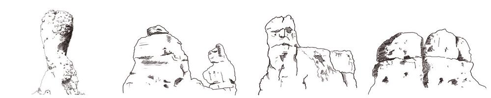 Les géants de pierre de Moureze