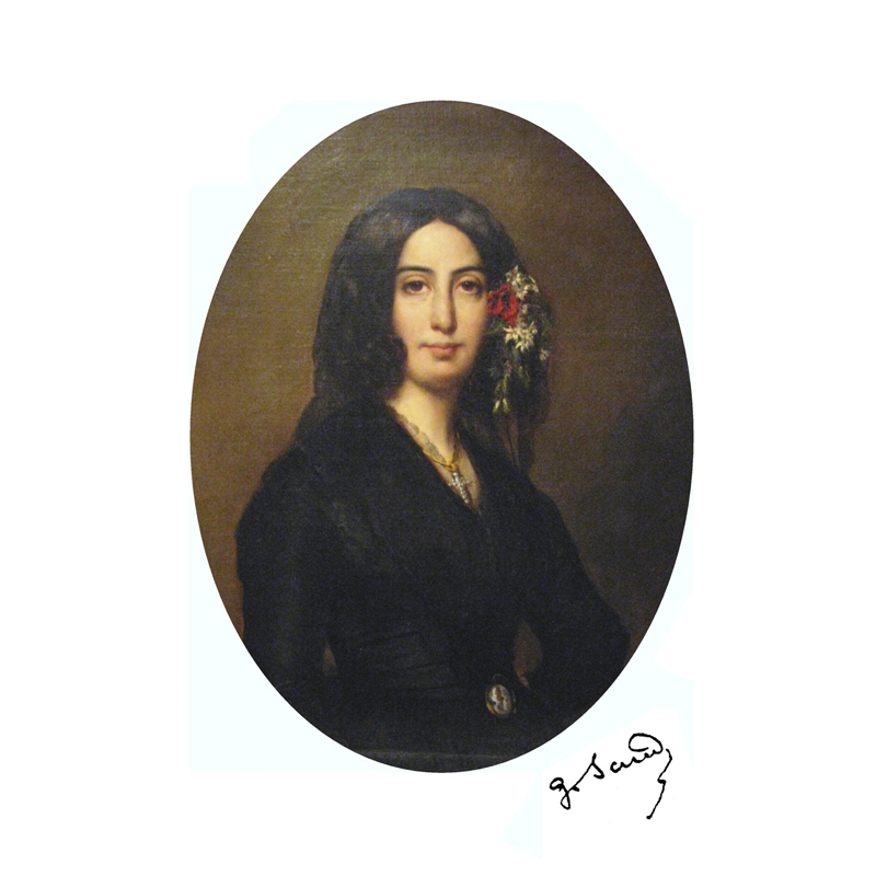 portrait Georges Sand