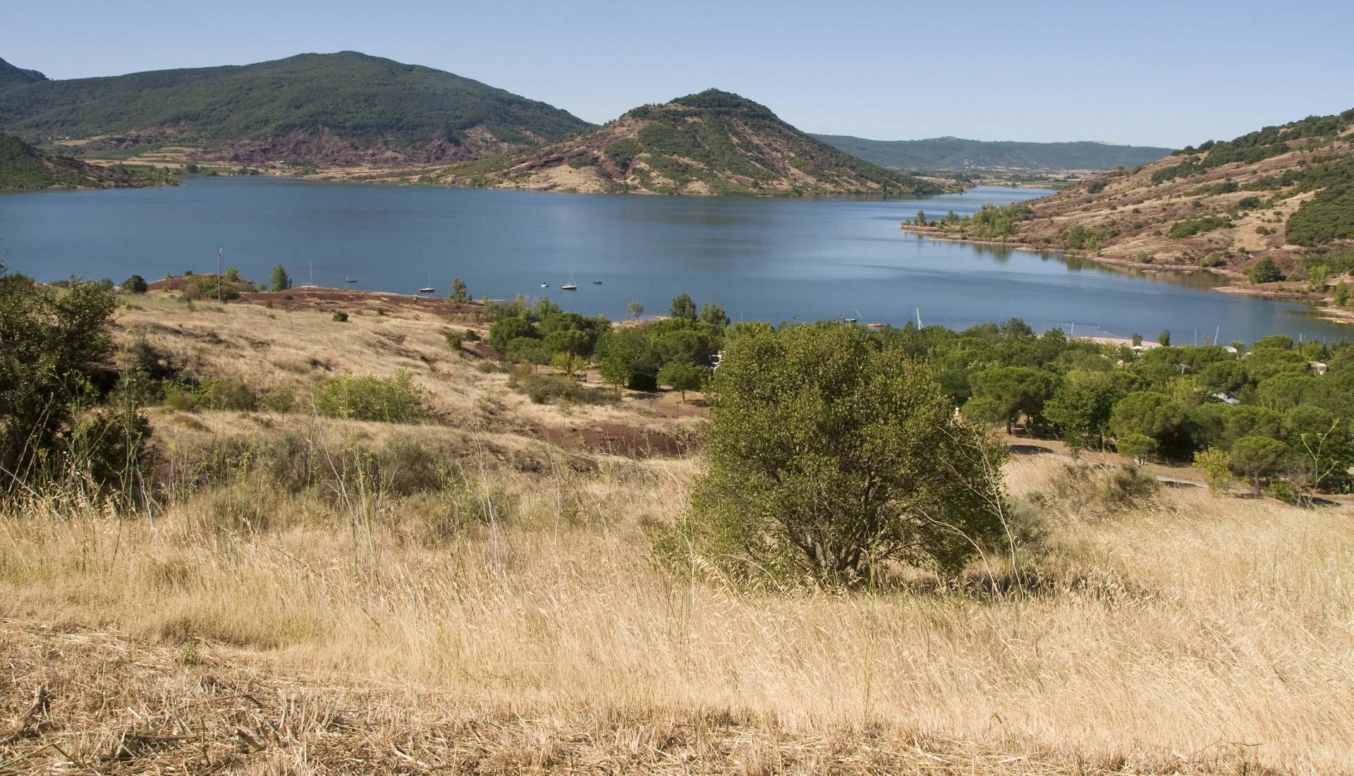 Les rives du Lac du Salagou © CD 34