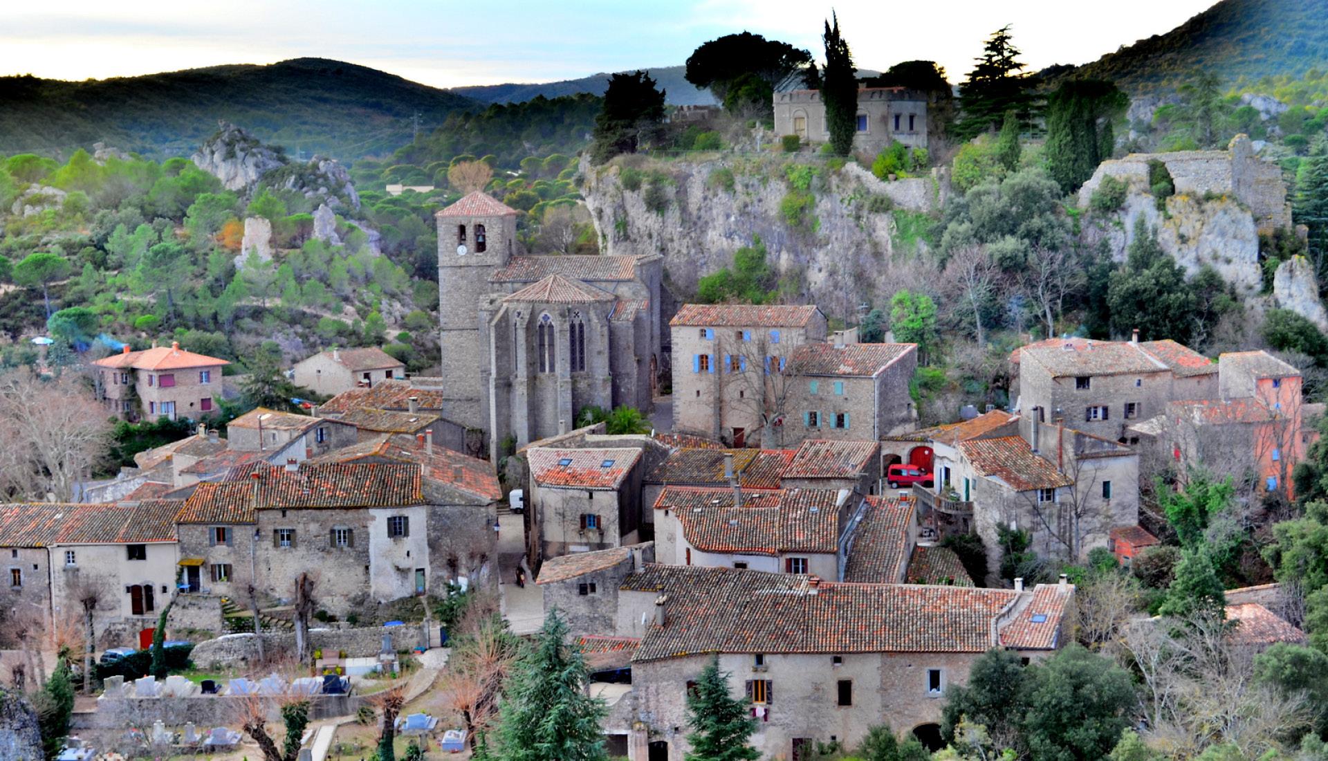 Village de Mourèze © Damien Ramos