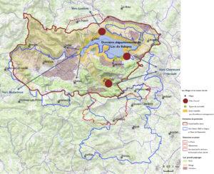 Carte Vocation Espaces protégés Grand Site